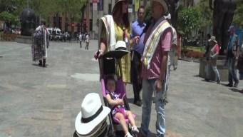 Mariana  Rodríguez descubre la ciudad de Medellín