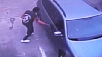 Le roban auto con hijo de 4 años adentro
