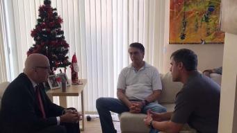Presidente electo de Brasil se reúne con opositor cubano