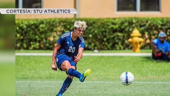 Eva Castaño, joven promesa del fútbol en Miami