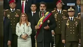 Reacciones tras supuesto atentado contra Maduro