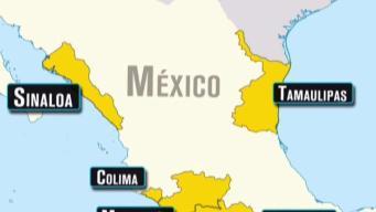 Recomiendan a turistas viajar a estados mexicanos