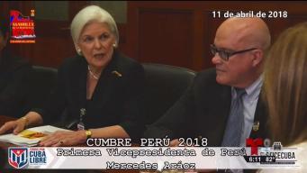 Retienen en Perú a exiliados cubanos