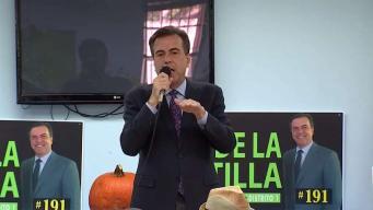Suárez respalda a Díaz de la Portilla por el Distrito 1