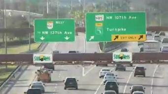 Aprueban expansión de autopista 836 hacia Kendall