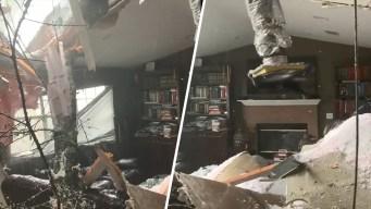Video: pastor canta mientras Michael arrasa con su casa