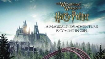 Muestran adelanto de nueva montaña rusa de Harry Potter