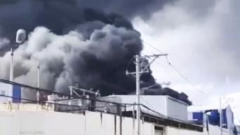 Reportan grave explosión en fábrica de Santo Domingo