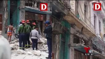 Tragedia en La Habana tras derrumbre