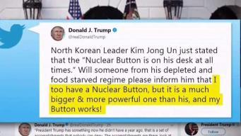 Trump lanza dura advertencia a Kim Jong-un