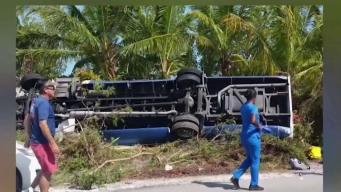 Turistas sufren accidente en una excursión en Las Bahamas
