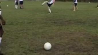 Puro Gol: Samuel practicando con Luis Carlos Perea