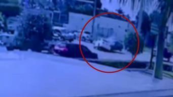 Impresionante video de fatal accidente en Hialeah