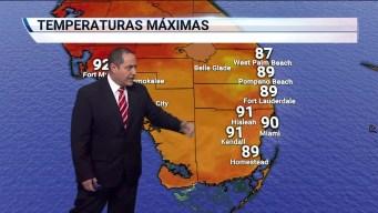 Sigue tiempo de verano en el sur de Florida