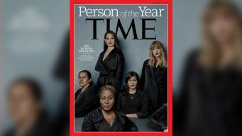 Denunciantes de acoso, figuras del año de la revista Time