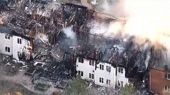 Al menos 100 ancianos desplazados tras incendio