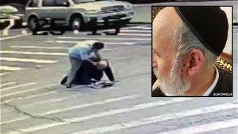 En video: brutal golpiza a judío de camino al templo