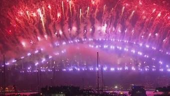 Se celebra la llegada del Año Nuevo en el mundo