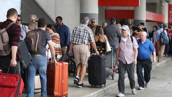 Se espera congestión en aeropuertos de sur de Florida