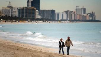 Continúa el frío y se avecinan aguaceros en sur de Florida