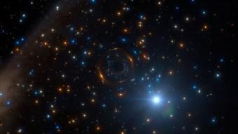 Inédito: descubren agujero negro en cúmulo de estrellas