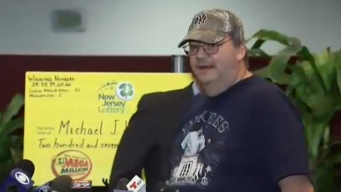 Hombre de NJ casi pierde boleto ganador de lotería