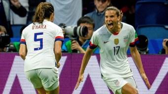 EEUU derrota a Suecia y pasa invicta a octavos de final
