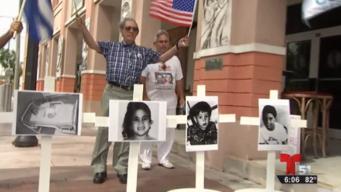 Exilio cubano exige cambio de sistema y no de tirano
