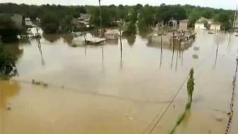 Luisiana: inundaciones dejan al menos 10 muertos