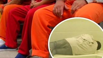 California: migrantes detenidos en huelga de hambre