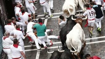 Pamplona: dos estadounidenses corneados entre heridos