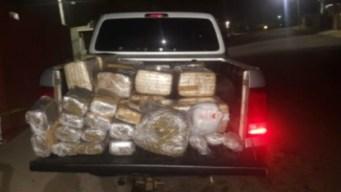 Decomisan cargamento de marihuana en Ensenada