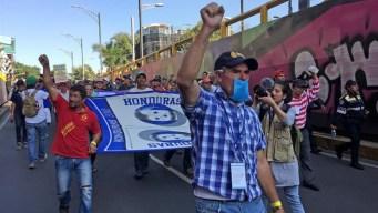 Migrantes exigen a ONU-DH autobuses para ir a EEUU