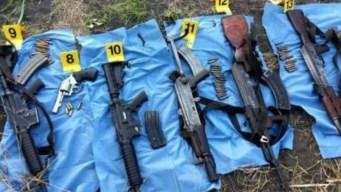 Redada en campamento narco causa siete muertos