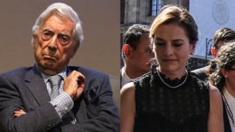 Vargas Llosa crítica a AMLO; su esposa le responde