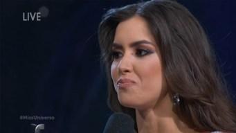 Miss Colombia genera lluvia de risas