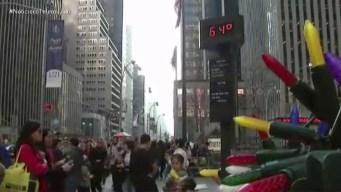 En vísperas de Navidad, las temperaturas son inusuales