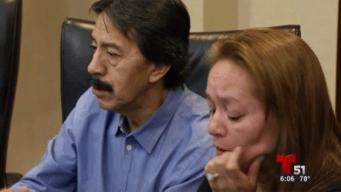 Padres de estudiante fallecida presentan demanda