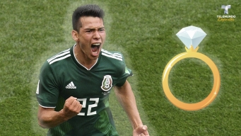 ¡La emoción le ganó! Fanático mexicano celebra con pedida de mano