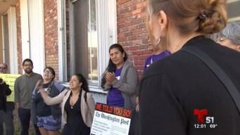 Pro inmigrantes rechazan discurso de alcalde
