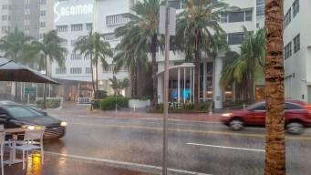 ¿Estos aguaceros en el sur de Florida son por Dorian?