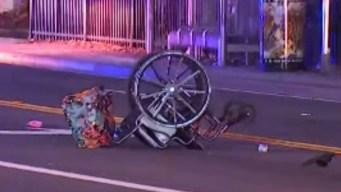 Chofer atropella a anciana en silla de ruedas y huye