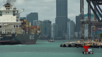 Lanzan nuevo sistema de navegación en puerto de Miami