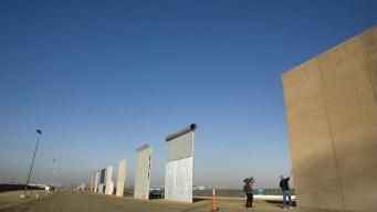 El muro de Trump ya tiene los prototipos terminados