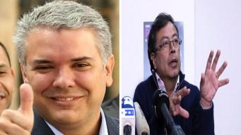 Colombia: Duque y Petro son candidatos presidenciales