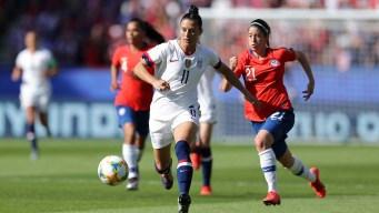 Las mejores jugadas del primer tiempo: EEUU vs Chile