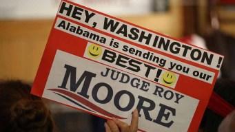 Mayoría votará por Moore, acusado de abuso sexual