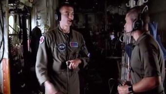 EXCLUSIVA: Dorian se ve desde un avión caza huracanes