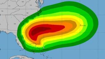 Tormenta Tropical Humberto se aleja de la Florida