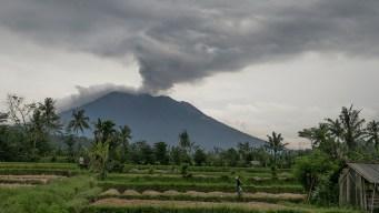 Volcán en Bali supuestamente listo para la erupción